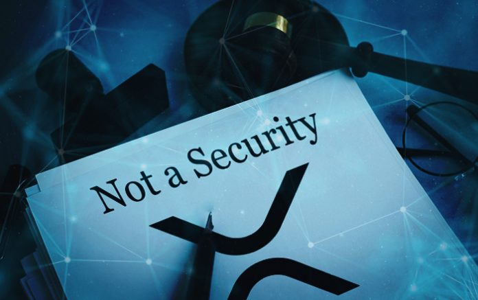 Ripple xrp is not a security
