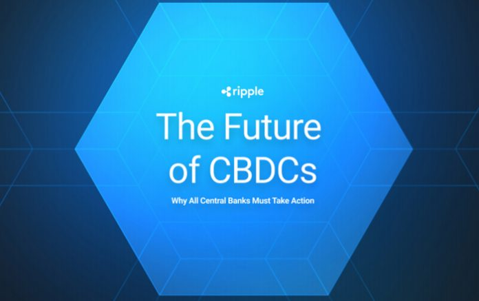 Ripple whitepaper recommends cryptocurrency XRP as CBDC intermediary