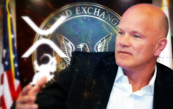 Mike Novogratz Says XRP Rally Indicates That Settlement Could Be Coming Soon
