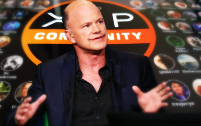 Mike Novogratz Compares XRP Army to 9/11 Truthers: