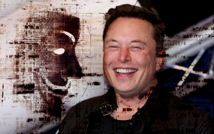 Did Elon Musk Just Kick the Hornets' Nest by Making Fun of Anonymous?