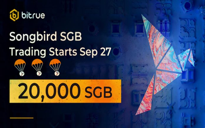XRP-Centric Bitrue Opens Songbird Deposits, Teases 20,000 SGB Promo